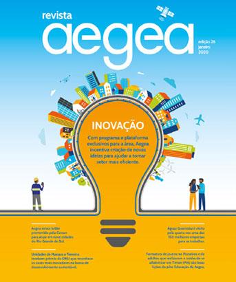Capa da Revista Aegea Edição 26