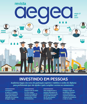 Capa da Capa da Revista Aegea Edição 27