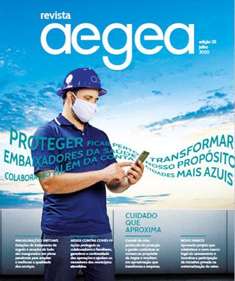Capa da Revista Aegea Edição 28