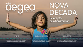Capa da Revista Aegea Edição 30