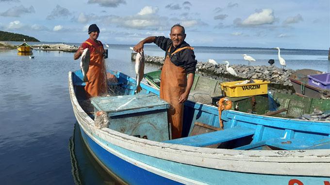 Pescadores de Iguaba Grande celebram fartura