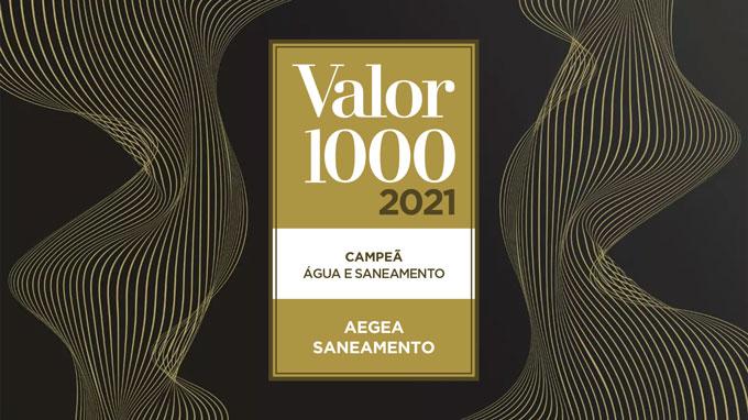 Selo Valor 1000 2021